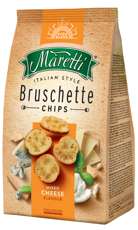Bruschette Mixed Cheese 150g